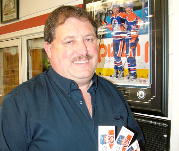 Meadow Lake's Darwin Assman is a long-time Edmonton Oilers fan and season ticket holder. He is delighted to see the NHL lockout come to an end and is looking forward to the upcoming, shortened NHL season. He also plans to be at the Oilers' first home game Jan. 22 against San Jose.