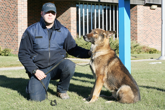 RCMP dog handler Cpl. Shawn Irwin was recently charged with one count of mischief following an incident at Waterhen Lake First Nation. Irwin will be in Meadow Lake court later this month.