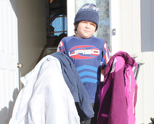 With winter weather approaching fast, 10-year-old Meadow Lake resident Brayden Hallberg has set out to help vulnerable people stay warm. He was prompted to act after learning about a man who froze to death in Elks Park in November 2010.